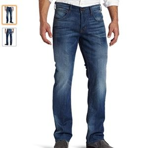 Hudson Byron Straight Leg Button Fly Jeans 36